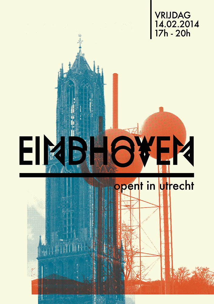 Flyer Eindhoven in Utrecht voorkant